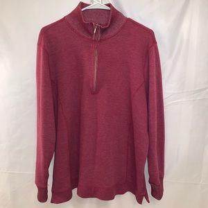 Eddie Bauer Zip Up Sweater Jacket Gray XXL